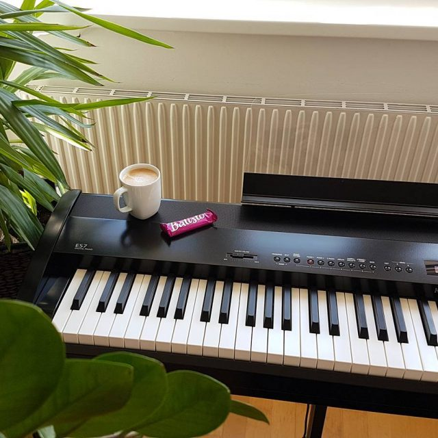 Coffee Balisto amp Piano break balisto kaffeepause?? piano weekend kawaies7hellip