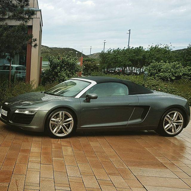 Audi R8  lets go sylt urlaub audi audir8 austrianblogger