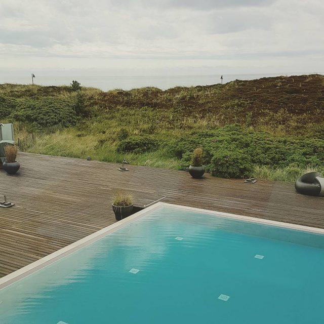 Tolle Landschaft tolles Hotel sylt fivestars insel pool meerwasserpool outdoorpoolhellip