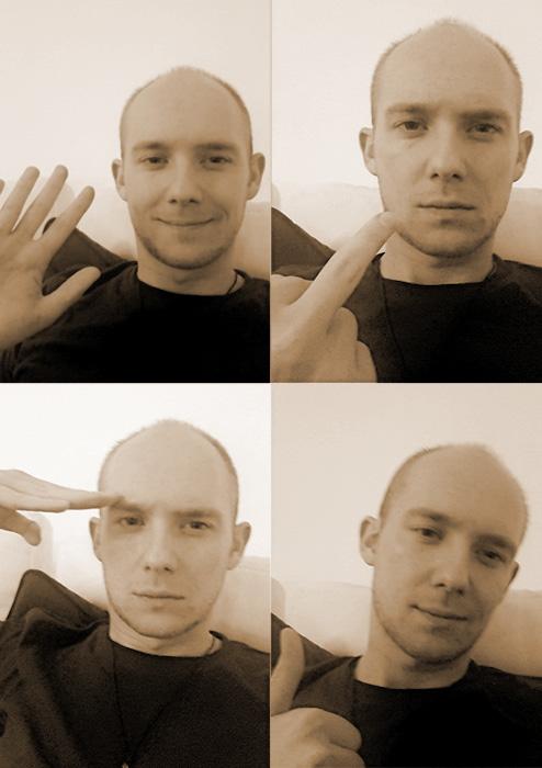 Selfie von mir, Jürgen Koller